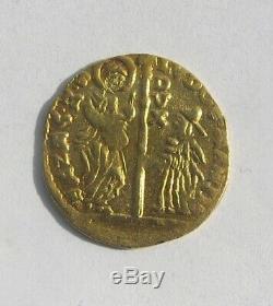 Fine Venetian 1787-1797 Zecchino Ludovico Manin Gold Coin