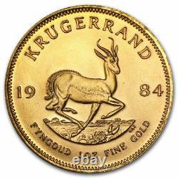 Gold Krugerrand 1 oz. 999 fine gold