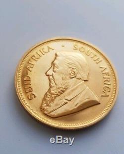 Krugerrand 1oz Coin 22 carat fine gold 1974 fyngold
