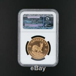 Krugerrand Fine Gold Coin 1ozt 1977 MS66 NGC Mint State Graded
