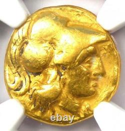 Macedon Alexander the Great III AV Gold Stater Coin 336 BC Certified NGC Fine