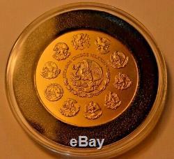Mexico 2014 Libertad Onza 1 oz. 999 fine gold coin 31.11 grams