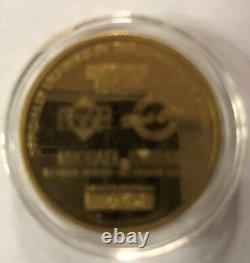 Michael Jordan Highland Mint. 999 Fine 1 Oz Gold Coin #54 Out Of 100