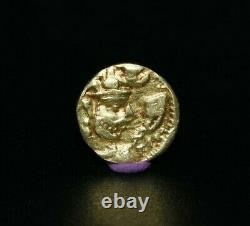 Rare Fine Genuine Ancient Sasanian Empire Gold Dinar Coin Circa AD 240-272