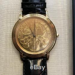 Raymond Weil Rare Wiener Philharmoniker Watch 1/2 Oz Gold 99.9 Fine Gold Coin