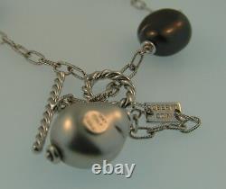 Roberto Coin 18K White Gold Perl Amore Bracelet