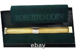 Roberto Coin 18K Yellow Gold Nine Station Diamond Primavera Bracelet