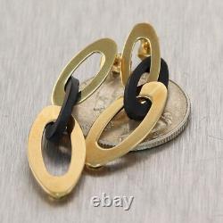 Roberto Coin 18k Yellow Gold Chic & Shine Dangle Earrings