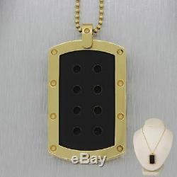 Roberto Coin 18k Yellow Gold Pois Moi Dog Tag 24 Necklace