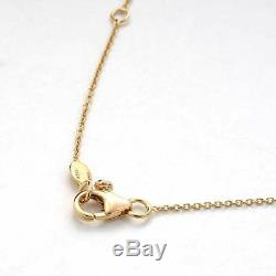 Roberto Coin Diamond Station Necklace in 18k Rose Gold. 10ct
