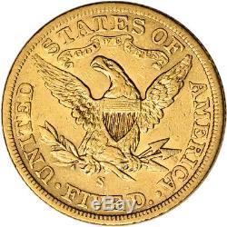 US Gold $5 Liberty Head Half Eagle Extra Fine Random Date